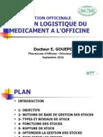 Gestion Logistique du Médicament