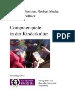Fromme-Meder-Vollmer_2015_Computerspiele in Der Kinderkultur