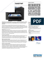 WorkForce WF 7840DTWF Datasheet