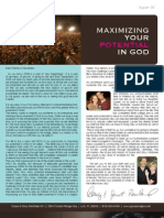 Grace & Glory August 2008 Newsletter