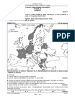 E d Geografie 2021 Test 07