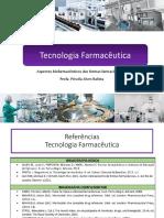 Aula 1-Aspectos biofarmacêuticos de formas farmacêuticas