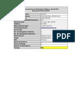 evaluacion SGSST 0312 2019 crosby