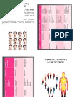 folleto emociones