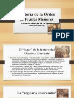 Historia de la Orden de Frailes Menores JOSE LUIS.