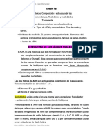 Acidos nucleicos resumen
