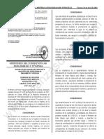 Gaceta Oficial N 42 108 Suspension Canones Pago Arrendamiento Vivienda Principal