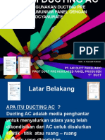 Presentasi First Duct