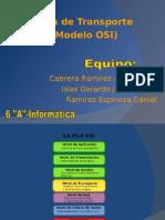 Capa de Transporte Del Modelo OSI