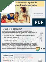 1. Análisis Conductual Aplicado – Conceptos Fundamentales (1)