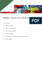 Modulo1 Introducción al marketing digital