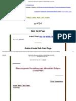 Page Web Card _ Überzeugende Vorstellung Des Mitsubishi Eclipse Cross PHEV