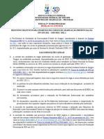 Edital nº 19 2021 Prograd