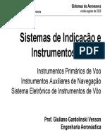 02R - Sistemas de Indicação e Instrumentos de Voo