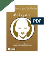 Podstawy palijskiego lekcja 2