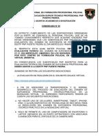 Relacion Cronograma Dirrehum Reiterando Modalidad Virtual
