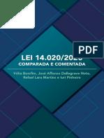 Lei 14020-2020 Comparada e Comentada