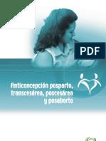 anticonceptivos postparto