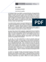 DIGEDD - Informe de Gestión - Martín Benavides
