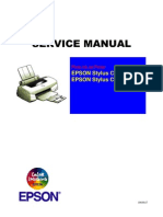 Epson Stylus Color 700 - Stylus Color EX Service Manual