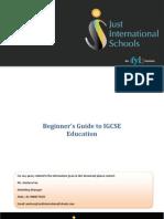 JustInternationalSchools_IGCSE_Beginners_Guide
