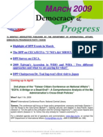 DPP Newsletter March2009