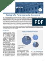 Radiografía Parlamentaria – Economía Encuesta a todos los senadores y diputados