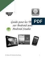 Guide TPs avec Android Studio