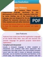 Java Evolution