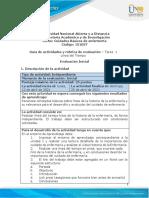 Guia de actividades y Rúbrica de evaluación-Unidad 1-Tarea 1-Línea del tiempo