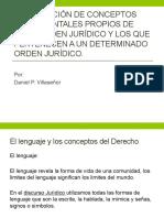 5.2 Distincion de coneptos fundamentales propios de todo orden juridico y los que pertenecen a un determinado orden juridicos
