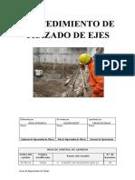 Edifica - Excavacion - Procedimiento de Trazado de Ejes