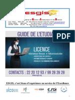Guide Etudiant LICENCE IRT