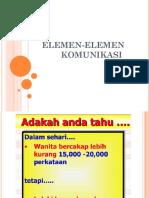 ELEMEN-ELEMEN KOMUNIKASI_