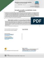 Sistemas de Informação No Auxílio a Contabilidade Estudo