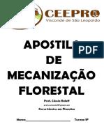 Apostila de Mecanização Florestal 2020 Ceepro