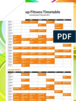 2011 timetable final