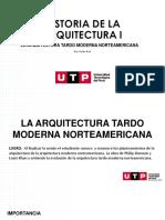 S16.s1- MATERIAL - ARQUITECTURA  TARDO MODERNA NORTEAMERICANA