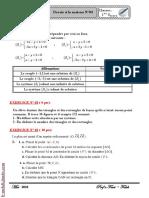 Devoir à la maison N°3 - Math - 1ère AS (2009-2010) Mr Abdessatar El Faleh