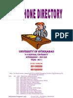 Telephone Directory-HCU