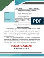Portfólio Rede de Mini Mercados Luza - 3 e 4 Sem Logistica