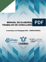 Manual de TCC currículo novo 2019-2020