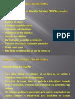5- Falta - Bases controlo sintomas