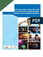 Diagnóstico de La Exposición y Efecto Del Ruido