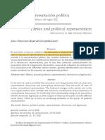 Reyes del Campillo Lona - Partidos y representación política