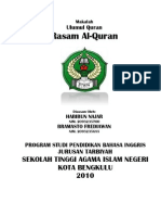 Makalah+I+Ulumul+Qur'an+-+Rasamul+Qur'an+-+(Oct+13+10)