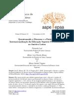 ___LEAL, F. Questionando o discurso e a prática da internacionalização na AL