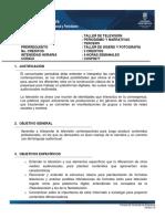 III. TALLER DE TELEVISIOìN