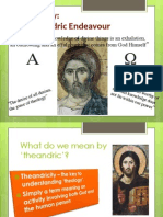 3. Theology in the Church - A Theandric Endeavour