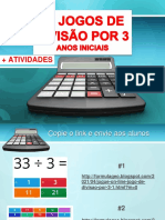 10 JOGOS DE DIVISÃO POR 3 - ANOS INICIAIS